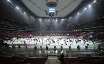 Atrakcje w Warszawie: Lodowisko na Stadionie Narodowym