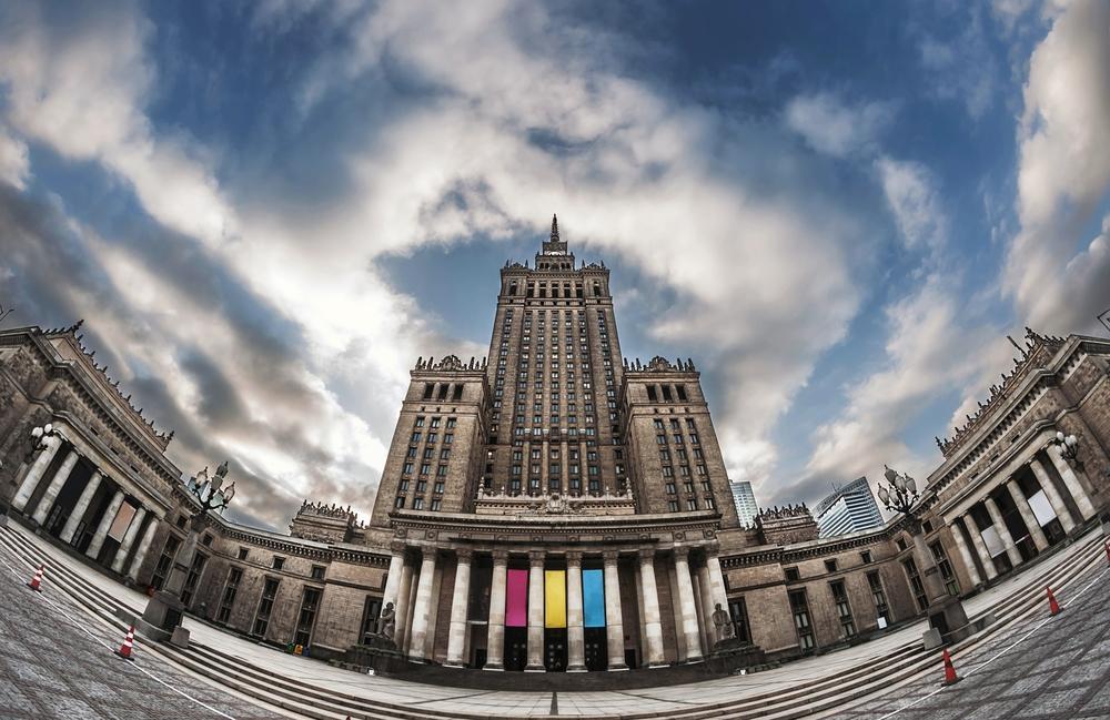 Pałac Kultury i Nauki jest jedną z największych atrakcji w Warszawie