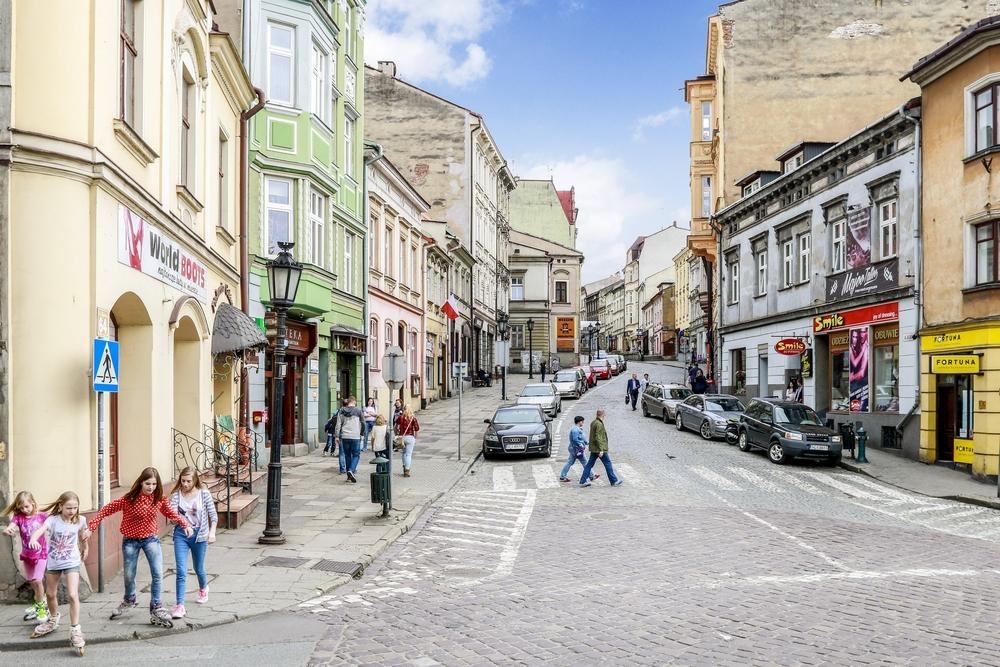 Stare miasto w Cieszynie